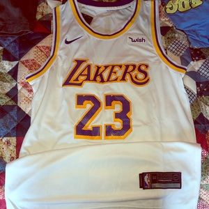 Anthony Davis Los Angeles Lakers #23 Nike Jersey